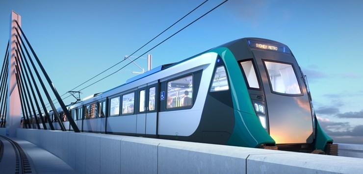 Sydney Metro car