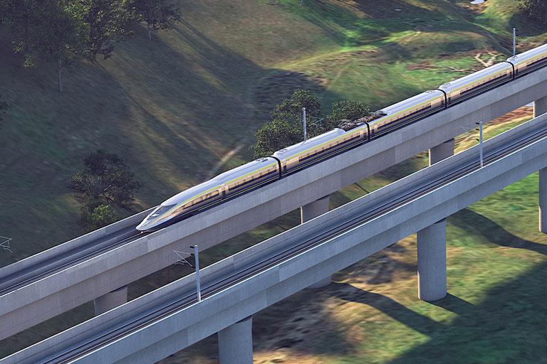 Bridge California High Speed Rail Project